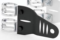 Lampenhalter ALU 31-58 mm