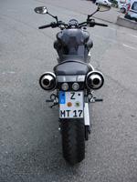Heckumbau MT 01 für 2 Personen