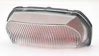 E-marked clear taillightwith red insert, Yamaha XJR 1300 99