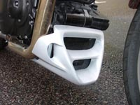New belly pan 2010 for Yamaha BT 1100