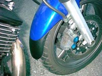 Front mud guard extension 16 cm(6,3 inch)