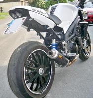 Heckumbau Speed Triple 1050 ab 2008