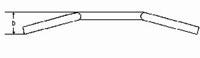 M-Lenker 575 mm schwarz